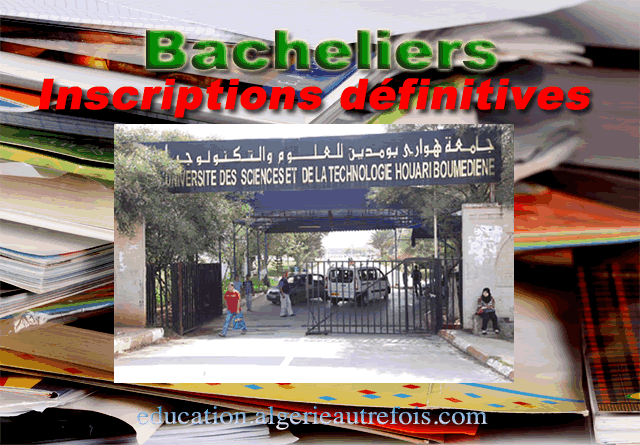 bacheliers inscriptions définitives