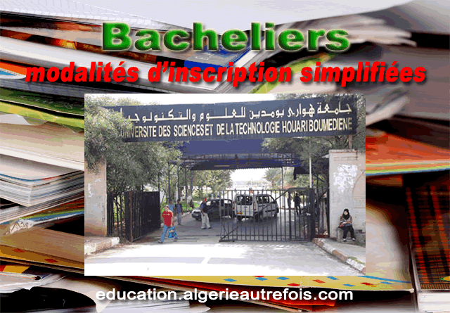 bacheliers inscriptions